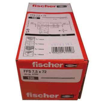 Fischer montageskrue m/h ffs 7,5x72 mm