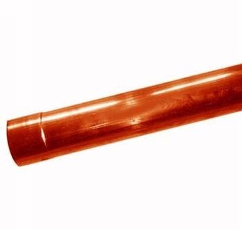 Image of   Nedløbsrør 0,7- 76mm (2m)