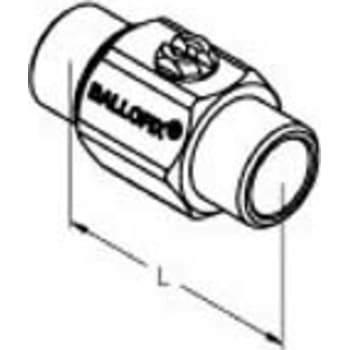Image of   1/2 kuglehane krom n/n