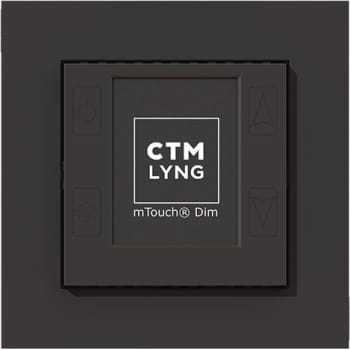 Billede af CTM mTouch DIM-R, lysdæmper, mat sort