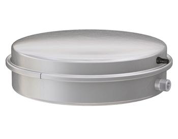 Image of   Flamco ekspansionsbeholder 3/4` Flad 12L / 0,5 bar