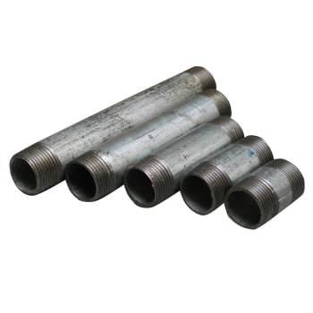 Nippelrør     Galvaniseret  3/8 - 30mm