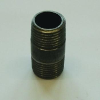 Nippelrør     Sort 3/4 - 40mm