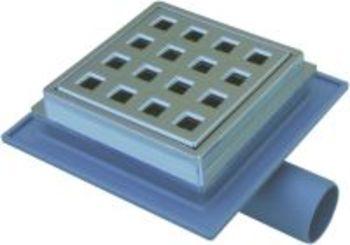 Image of Jo bruseniche-afløbsskål 32mm krom til beton/klinkegulv
