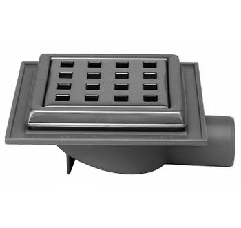 Image of Jo-Mini afløbsskål 32 mm med rist til beton/klinkegulv