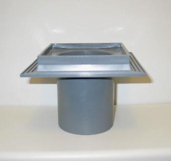 Image of Maxi-Flex afløbsskål, 110mm. ekskl. rist i PP-plast til indstøbning i beton.