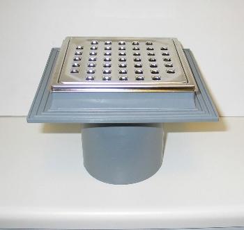 Purus Maxi-Flex afløbsskål, 110mm til indstøbning i beton.