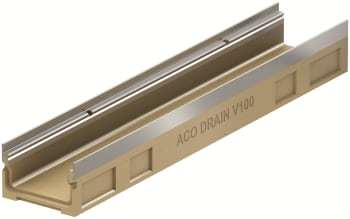 Image of   Aco 1m rende u/rist/hul g