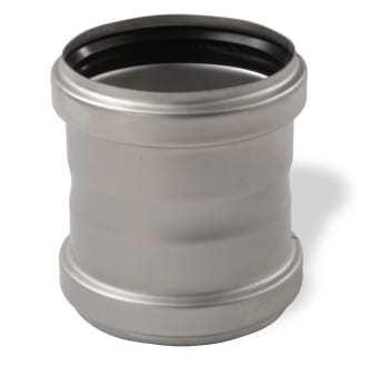 Image of   ACO 50mm rustf. dobb. muffe