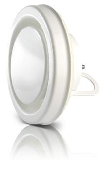 Image of   100 mm Udsugningsventil med ramme ventilation KSL