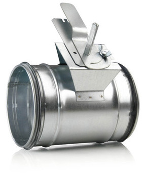 Image of   200 mm Indregulering/lukkespjæld til ventilation
