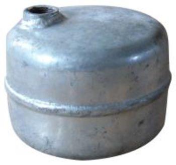 """luftpotte 2 liter, 1/2"""" RG, galvaniseret"""