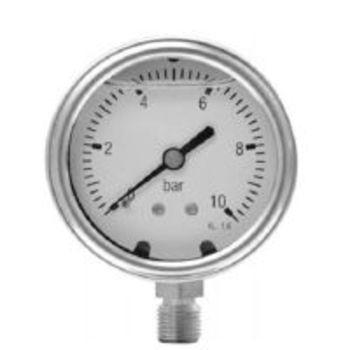 Billede af Termometre, Manometer 100 MM   1/2