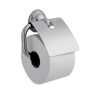Image of   AX Carlton papirholder, krom