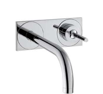 Billede af Hansgrohe AX Uno2 håndvaskarmatur t/væg m.plade kort