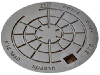 Image of   Ulefos 315mm dæksel 40 m/lås utvl31,5