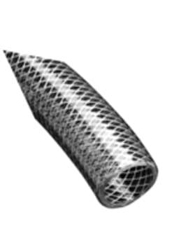 Image of   1` pvc slange armeret