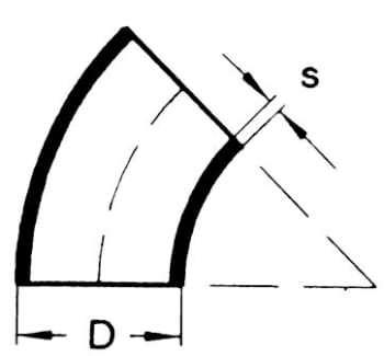 Image of   101,6x3,6 svejsebøjning