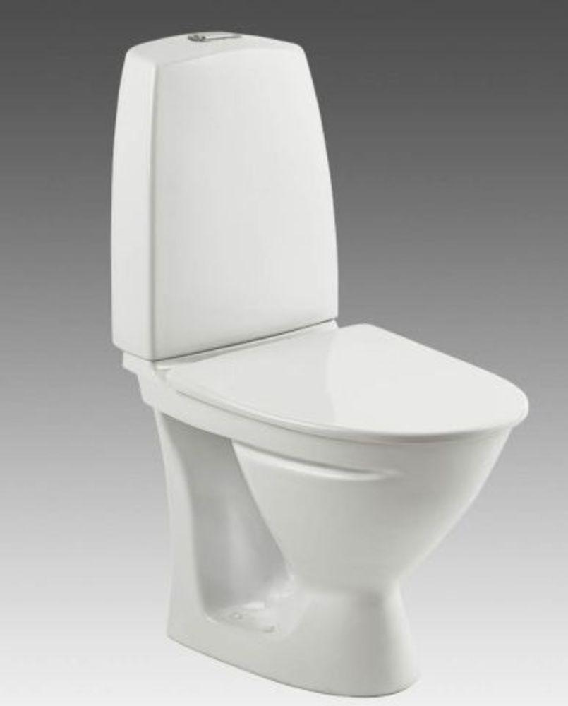 Smuk Ifö Sign Toilet kort model 6832 P lås Compact hvid med IFØ Clean LI-52