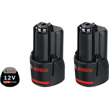 Bosch batterisæt 12v 2x3,0ah