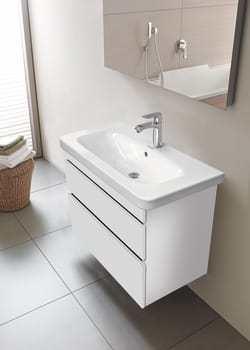 Image of   Durastyle vaskeskab 73 cm hvid mat 2 skuffer til vask 635495000
