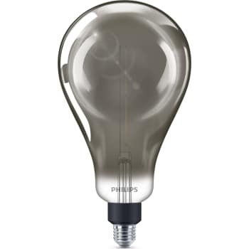 Image of   2 stk Philips filament a160 6,5w e27 smoky d