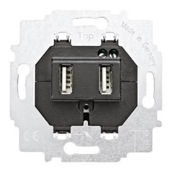Image of   ABB usb-oplader dobb. indsats 5v