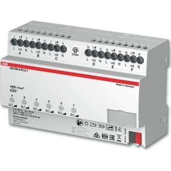 Billede af ABB KNX Universal Lysdæmper LED 6x210W/VA, MDRC, UD/S6.210.2.1