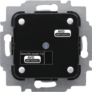 Billede af ABB Free-Home Tryk/lysdæmper 1x10-180W/VA (indsats) 1M SDA-F-1.1.1