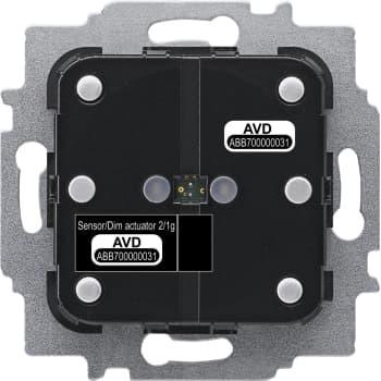 Billede af ABB Free-Home Tryk/lysdæmper 1x10-180W/VA (indsats) 1M SDA-F-2.1.1