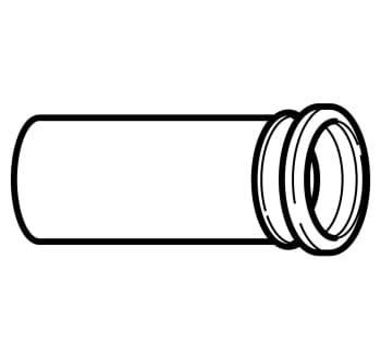 Image of   110 mm geberit klosettilsl.