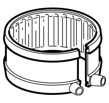 Image of   75 mm geberit fix-bånd