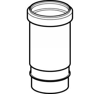 Image of   75 mm geberit peh langmuffe