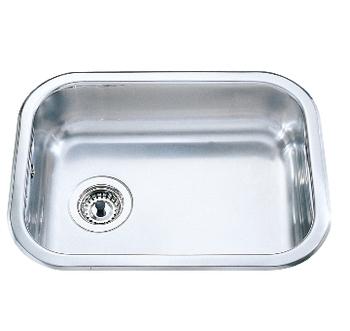 Billede af Intra Juvel, Intra Barents A480 køkkenvask 54x40cm m/strainer