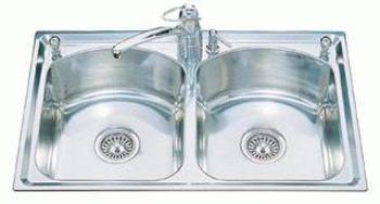 Intra Mega IME80 køkkenvask 80,4x50cm m/strainer