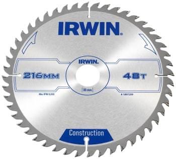 IRWIN rundsavklinge 48td ø216/30 2.5