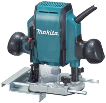 Makita overfræser rp0900j 8 mm 900w
