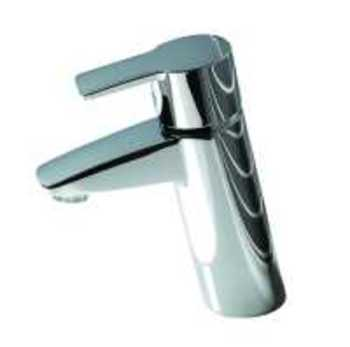 Image of   Oras Cubista Håndvaskarmatur med push op ventil
