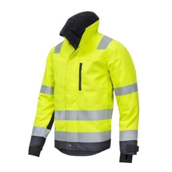 Snickers vinterjakke 1130 gul/grå, m