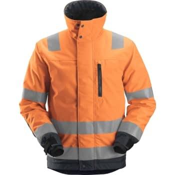 Billede af Snickers Vinterjakke 1130 orange/grå xl