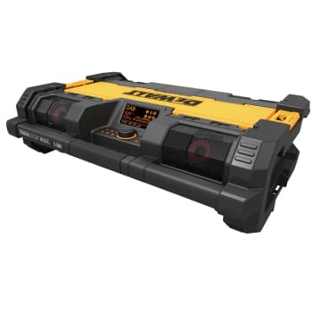 DEWALT 18v tough system radio & lader
