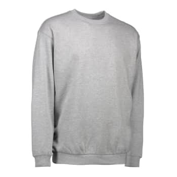 ID Identity sweatshirt grå melange str. m