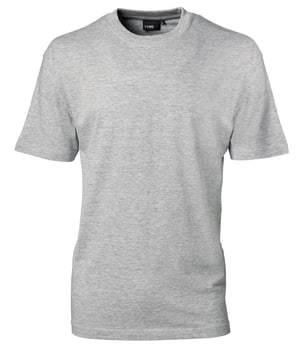 Image of   ID Identity t-shirt grå melange str. xxl