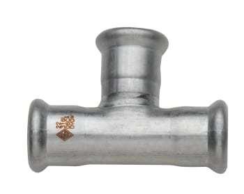 Turbopress 108mm turbo inox tee