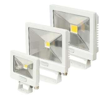 NVC Lighting projektør odessa 30w pir hvid