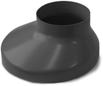 Image of   Plastmo 110 mm x 130 mm Brøndkrave brun