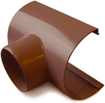 Image of   Plastmo 12`` x 75 mm Tudstykke brun
