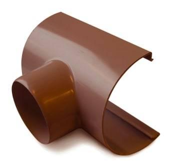 Image of   Plastmo 12`` x 90 mm Tudstykke brun