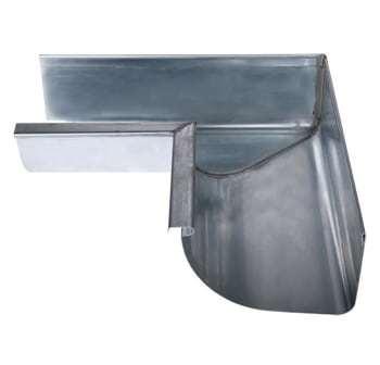 """Image of   Plastmo 1/4r zink gering 11"""" indv.90°"""