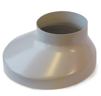 Image of   Plastmo 75 x 130 mm Brøndkrave grå
